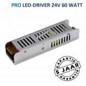 LED-driver 24 volt PRO max. 60 watt | Metalen behuizing