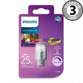 Philips LED capsule G9 25 watt (2,3w) warm wit | Dimbaar