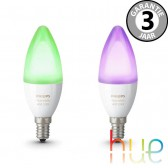 Philips Hue White Ambiance en Color E14 duopack kaars