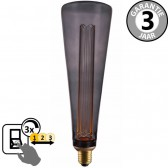 LED GIANT TUBE SceneSwitch DECO SMOKE 5W E27 | 3 standen dimbaar