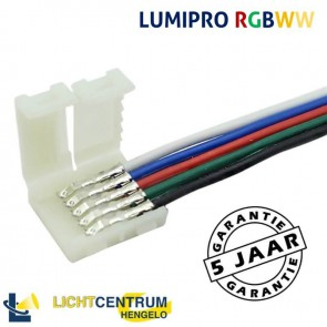 LUMIPRO koppelstuk 15 cm RGBWW LED-strip