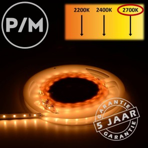 LumiPro LED-strip warm wit 2700K 4,8 watt | Per meter
