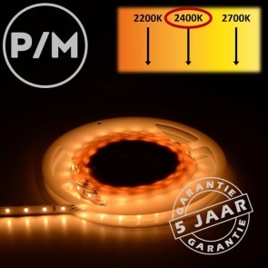 LumiPro LED-strip extra warm wit 2400K 4,8 watt | Per meter