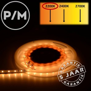 LumiPro LED-strip zeer warm wit 2200K 4,8 watt | Per meter