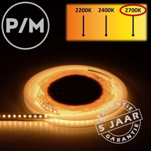 LumiPro LED-strip warm wit 2700K 9,6 watt | Per meter