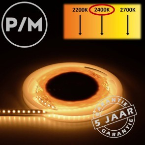 LumiPro LED-strip extra warm wit 2400K 9,6 watt | Per meter
