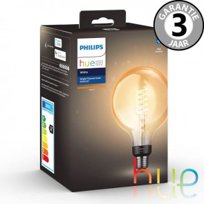 Philips Hue Filament kooldraad Globe 125mm losse lamp