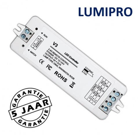 MODILED ontvanger voor LumiPro LED-strip | max. 96W