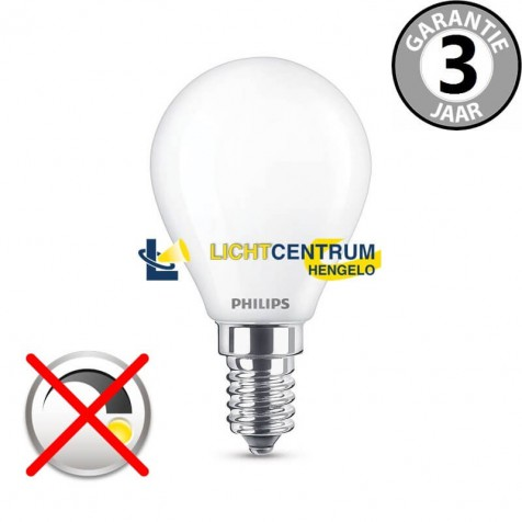 Philips LED kogellamp 40 watt (5,5W) E14 | Mat