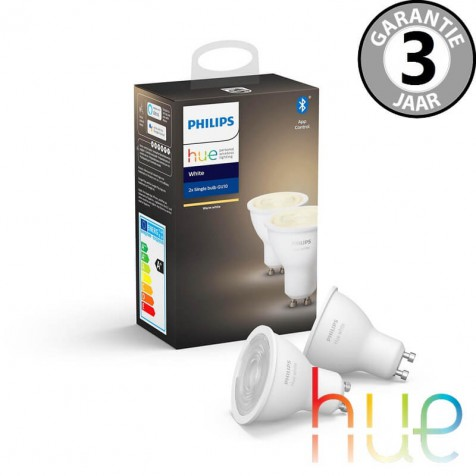 Philips Hue White GU10 Duopack