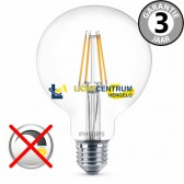 Philips LEDclassic globe 95mm 60 watt (6W) E27 | Helder