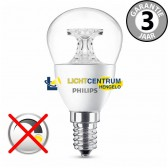 Philips LED kogellamp 25 watt (4W) E14 | Helder
