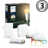 Philips Hue White Ambiance Starterspack E27 3 lampen