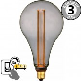 LED GIANT PEER SceneSwitch DECO SMOKE 5W E27 | 3 standen dimbaar