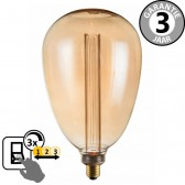 LED GIANT BALLON SceneSwitch DECO GOLD 5W E27 | 3 standen dimbaar