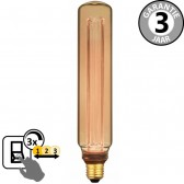LED GIANT PIL SceneSwitch DECO GOLD 5W E27 | 3 standen dimbaar