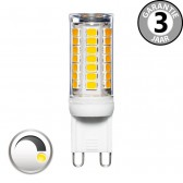 LED capsule G9 30 watt (3w) warm wit | Dimbaar