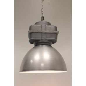1-lichts hanglamp VIC MANIA staal | Ø 42 cm