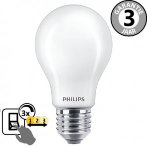 Philips LED standaard SceneSwitch 60 watt (8w) E27 | 3 standen dimmer