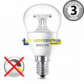 Philips LED kogellamp 40 watt (5,5W) E14 | Helder