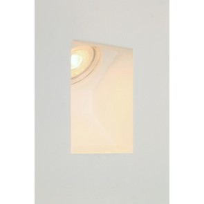 Trimless wandlamp / trapverlichting GIPSY SQUARE | Schuin