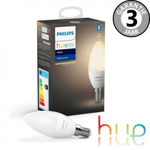 Philips Hue White E14 losse kaarslamp