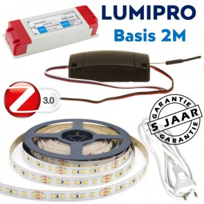 LUMIPRO basis 2M 9,6 watt Tunable White 2400K-5500K + ZigBee dimmer