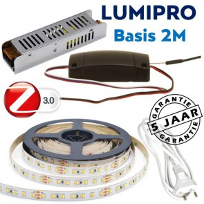 LUMIPRO basis 2M 23,7 watt Tunable White 2400K-5500K + ZigBee dimmer