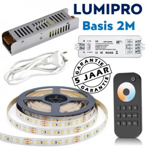 LUMIPRO basis 2M 23,7 watt Tunable White 2400K-5500K + zone dimmer